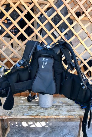 My BCD I used for my 4-days diving adventures.