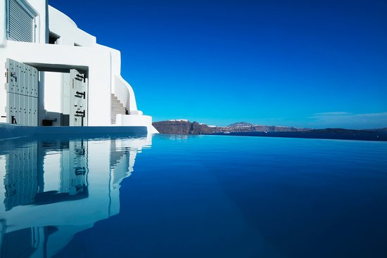 The endless blue at Ducato Di Oia