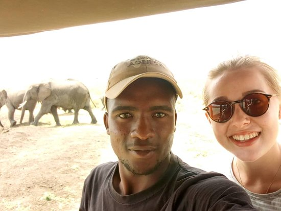 Mikumi National Park: Selfie time with the wild