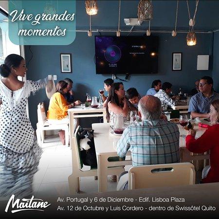 Momentos mágicos en Restaurante Maitane Ubicado en la Av. Portugal