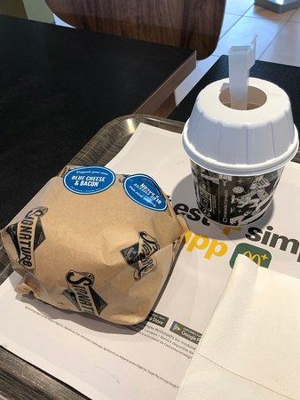 McDonald's: Le Double Cheddar & Smoky Bacon : vraiment délicieux...!