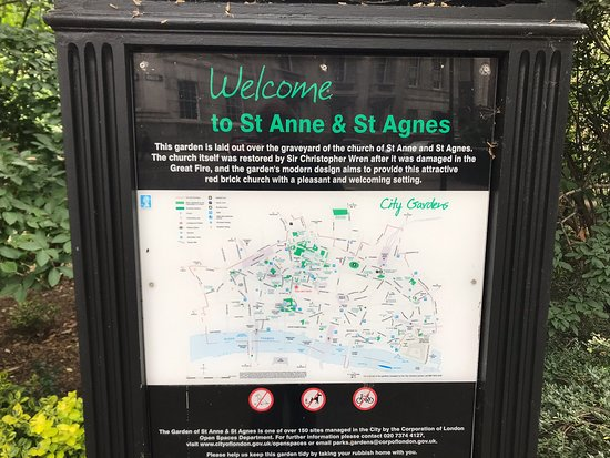 St Anne & St Agnes Garden