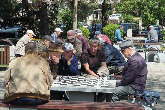 Brasov County, Rumania: Шахматисты