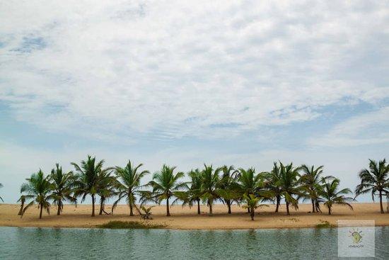Dzita, Ghana: Beach tour of Ghana's Volta Region.