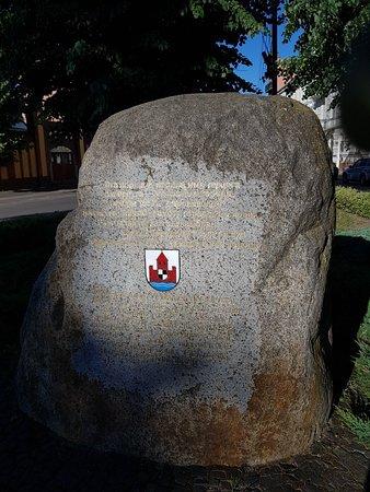 Memorial Stone to Duke Albrekht