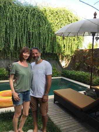 Heaven Villa Ubud: Private pool