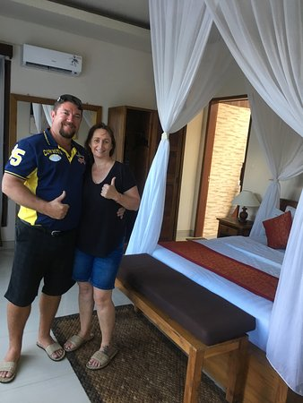 Heaven Villa Ubud: Bedroom