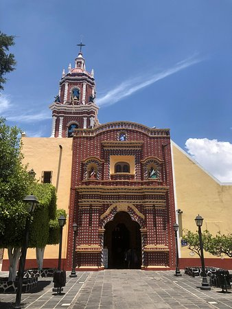 One of many unique churches in Mexico...