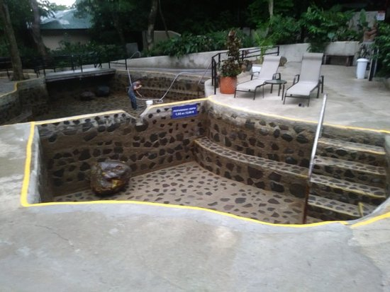 Conchalfun.com. uses the only hot springs that empty the pool EVERY day to clean  1 800 309 4123