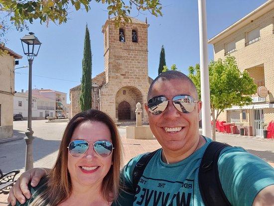 Mohedas de la Jara, Spania: Eu e meu esposo
