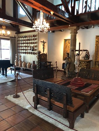 Кито, Эквадор: Guayasamin Museum; in the artist's home
