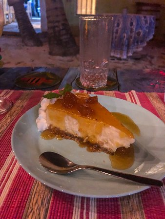 Gracehouse Lounge Bar & Restaurant: Pineapple cheesecake