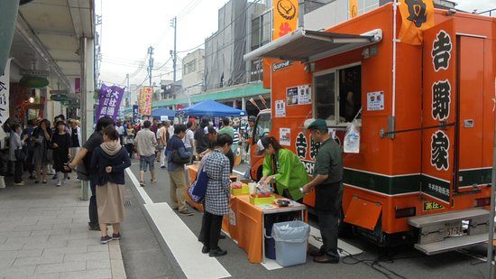 Fujinomiya, Japonia: 蒲貞-4 牛丼の吉野家も、商店街に出店?