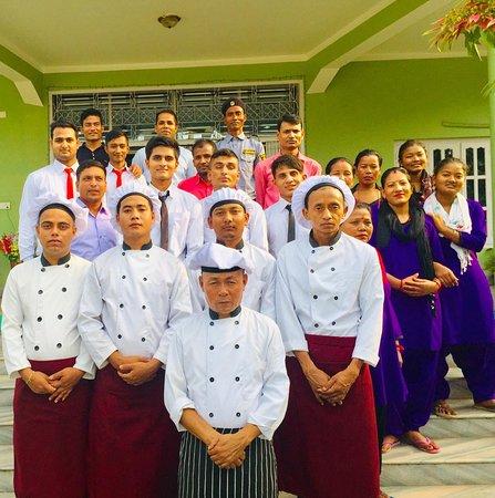 Narayani Zone, Nepal: kitchen team