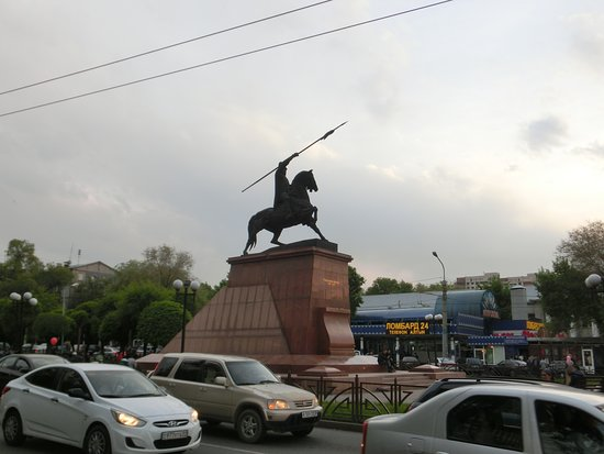 Monument to Raiymbek Batyr