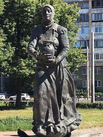 Okhtenka Monument