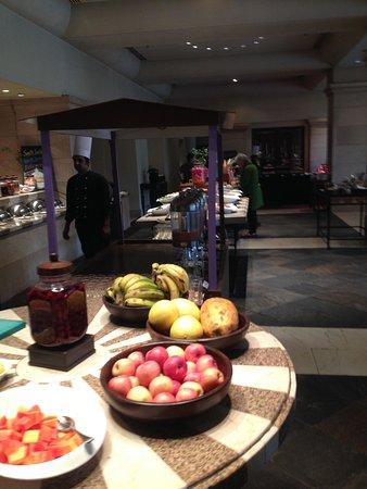 The Café - breakfast buffet