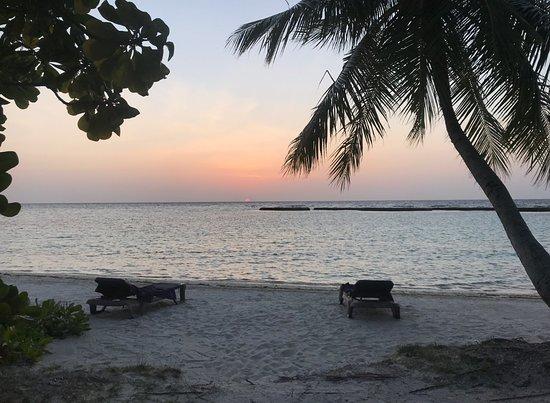 Kuredu Island Resort & Spa: just infront of our beach bungalow