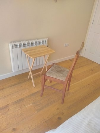 Market Lavington, UK: The only chair and work surface in the room.