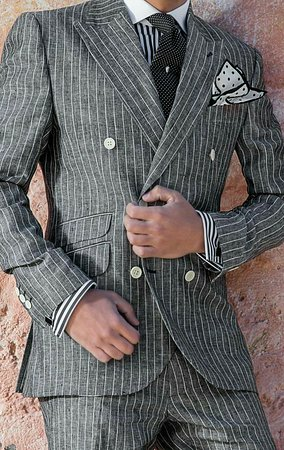 Lucky Design Custom Tailors: Slim fit cut suits for man