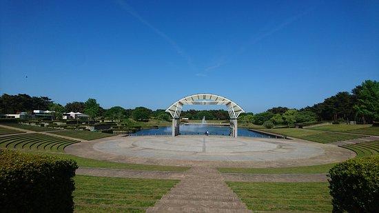 Hitachi Seaside Park: 海濱公園景觀
