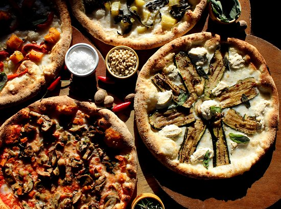 Flying Saucer Vegan Pizza: Woodfire Pizza Deals