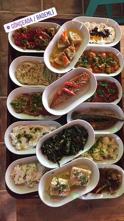 Dimitri Ada Evi & Restaurant: Mezelerimiz