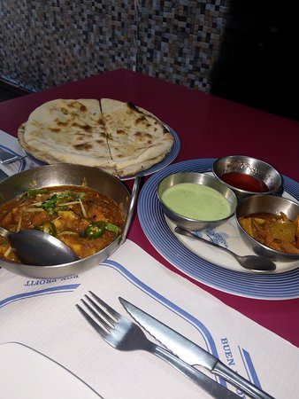 Halal Food Traditional Indian Pakistani Dishes Picture Of Adil Tandoori Restaurant Halal Barcelona Tripadvisor