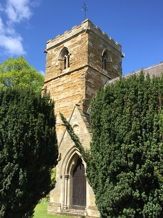 Market Rasen, UK: St Giles Church Langton by Wragby