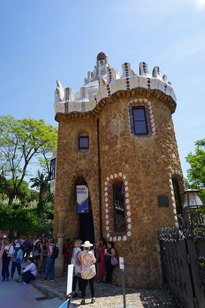 Another Parc Guell building....