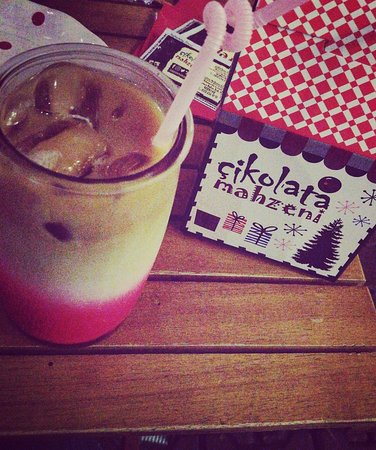Iced Latte and Chocolate Box