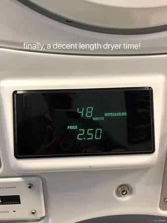 Wonderful laundry area