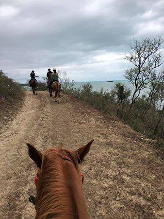 Far West Ranch: Overlooking the beach