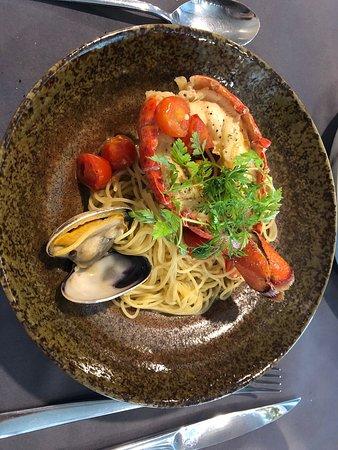 Delicate Italian food