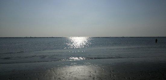 Punta Marina Terme, Italy: Bellissimo spettacolo oggi a punta marina(Ravenna) davanti al bagno Wave