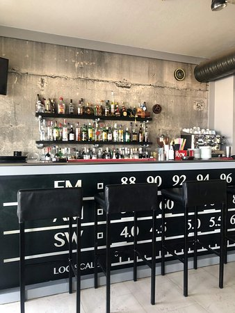 Our indoor bar!!!