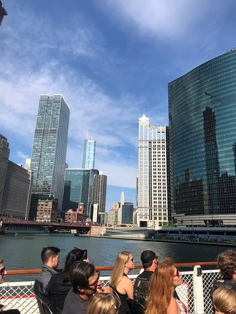 Фотография Chicago Architecture Center River Cruise aboard Chicago's First Lady