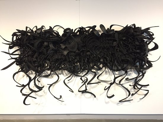 re-tread art?....probably 30ft of shredded tires pieced together - only $180K -
