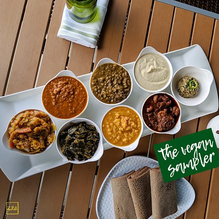 Introducing, the new and improved VEGAN SAMPLER at Feedel Bistro!!