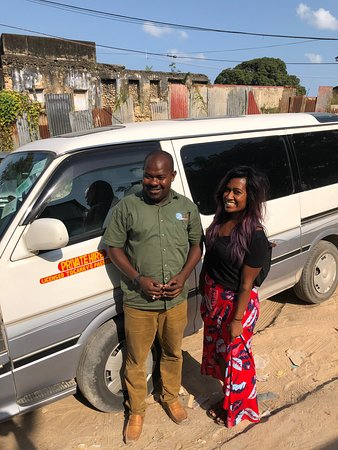 """Eddy was an amazing driver and made our trip to """"The Rock"""" restaurant wonderful! Eddy picked us up early, was extremely considerate, and was delightful to chat with during our trip across Zanzibar.  I highly recommend Ztrans for any transport or tour needs while visiting Zanzibar. Thanks Eddy and Bilal!"""