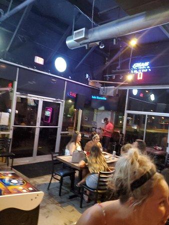 Small bar. Friendly welcoming vibe!