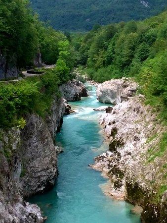 Kobarid, Slovenia: River Soca