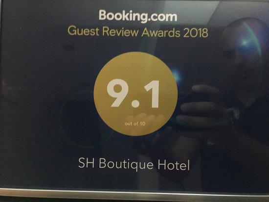 SH Boutique Hotel: pequeno almoço