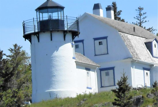 Lighthouse seen on tour.
