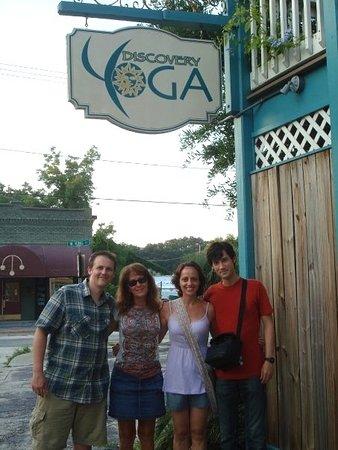 Сент-Огустин, Флорида: Welcome to Discovery Yoga Hostel!