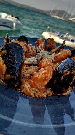 Porto Nikiana Restaurant: Κριθαρότο Θαλασσινών!!!