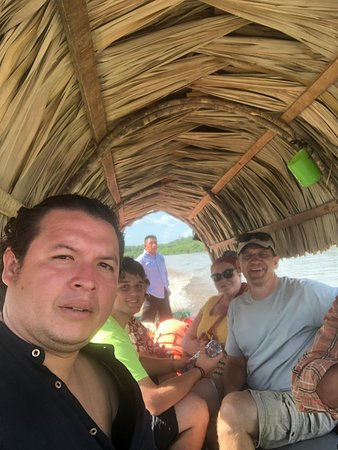 Ready to go down the Usumacinta River to get A.Z Yaxchilam.