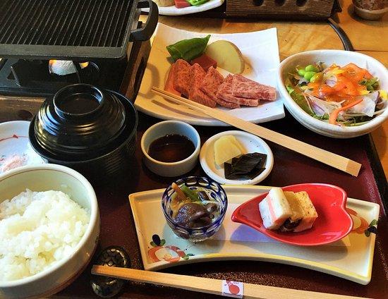 近江牛肉ステーキ膳
