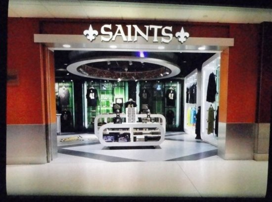 wholesale dealer 6e23b 0351d New Orleans Saints Store (Kenner) - 2019 All You Need to ...
