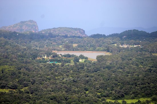 Nature view from Kalrav Cottage at Pachmarhi